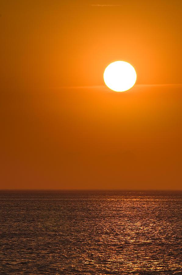 Chicago Photograph - Lake Michigan Sunrise Chicago by Steve Gadomski