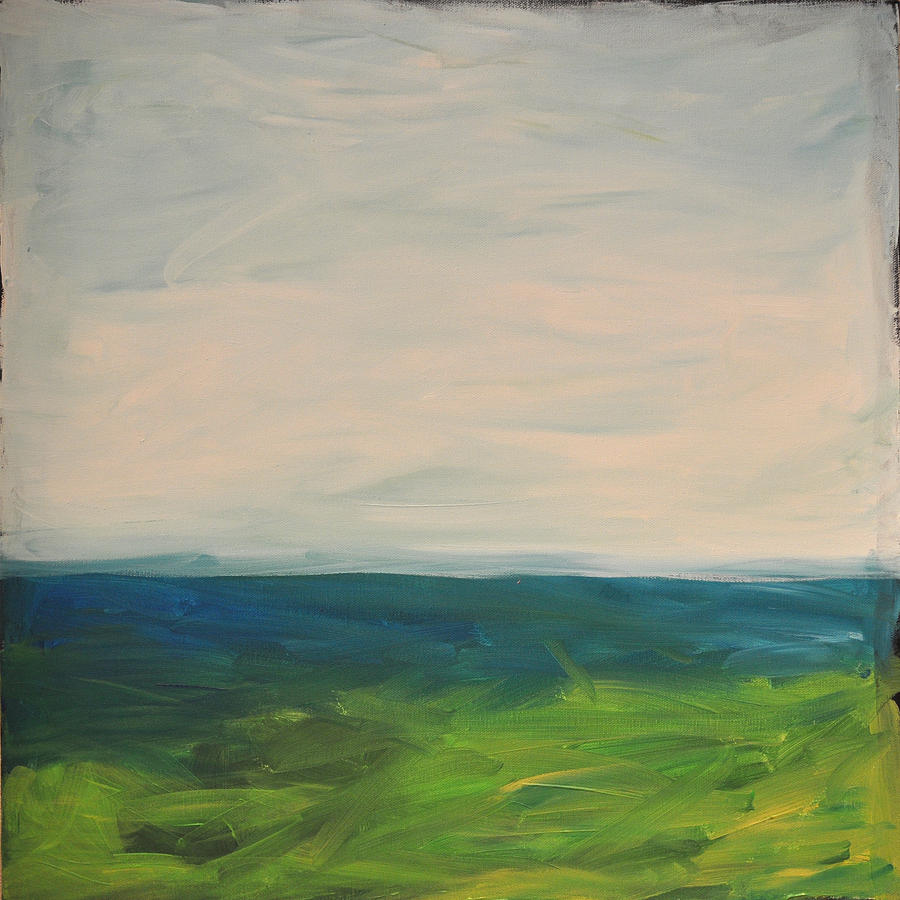 Lake Painting - Lake Michigan by Tim Nyberg