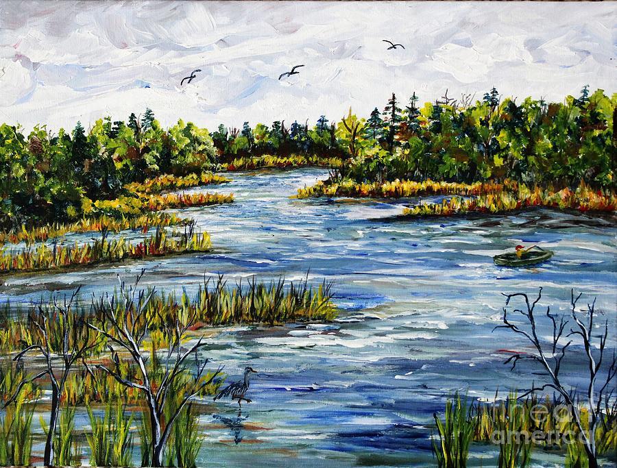 Lake Musky by Linda Steine