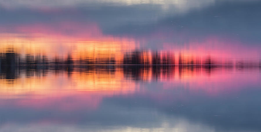 Lake Norman Sunset by Ronald Santini