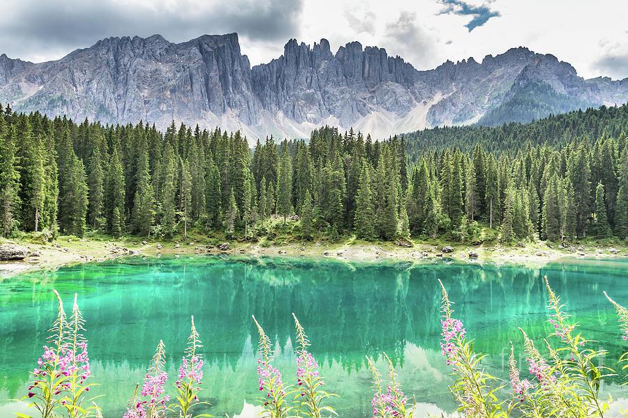 Dramatic Photograph - Lake Of Carezza - Italy by Pier Giorgio Mariani