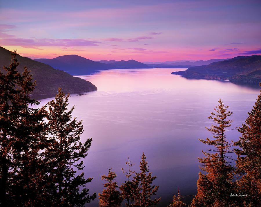 Beautiful Photograph - Lake Pend Oreille 2 by Leland D Howard