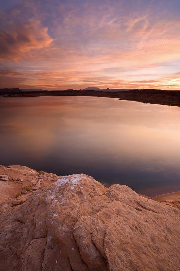 Lake Powell Photograph - Lake Powell Dawn by Mike  Dawson