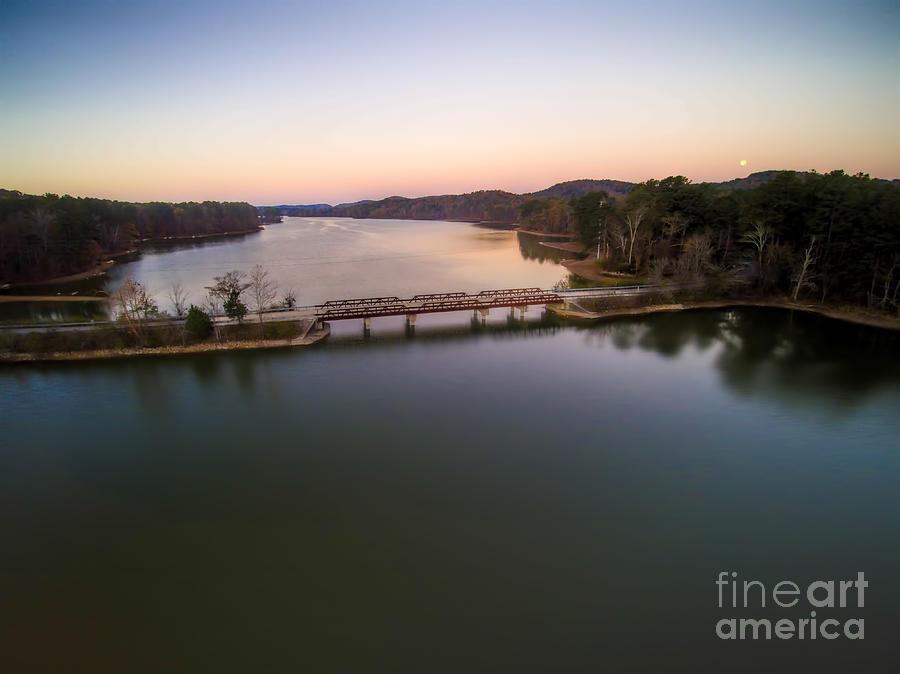 Lake Purdy Photograph - Lake Purdy At Grants Mill by Ken Johnson
