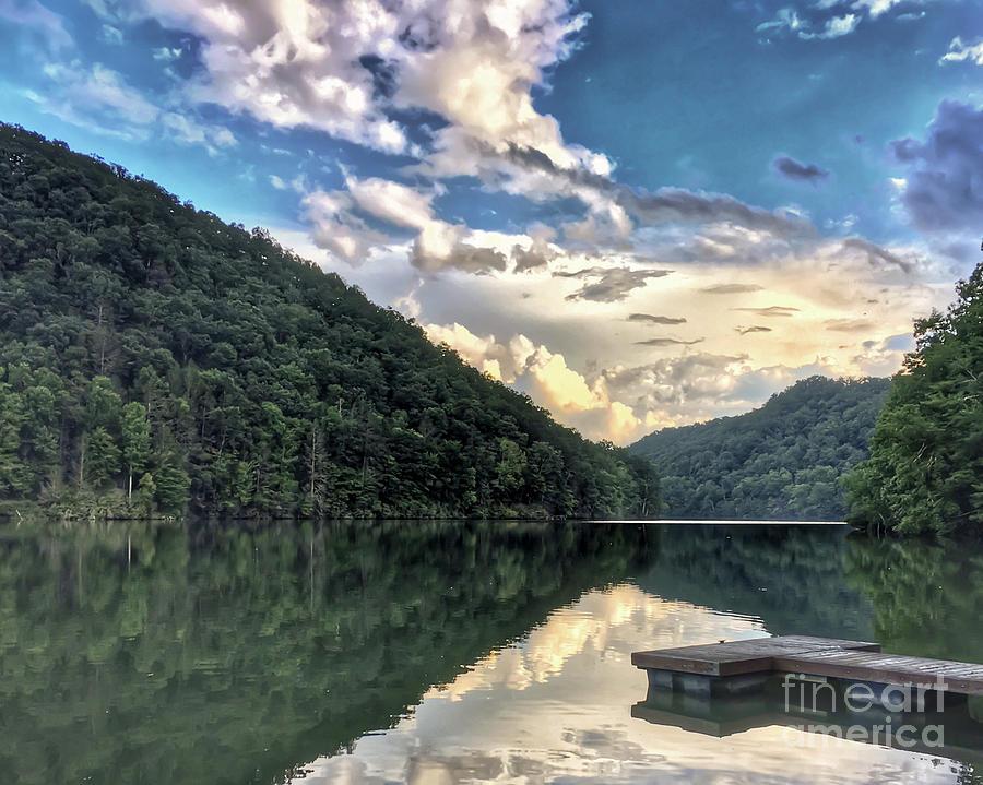 Lake Photograph - Lake Reflections by Kerri Farley