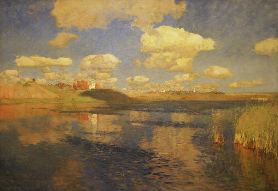 Image result for Isaac Levitan's russian painting