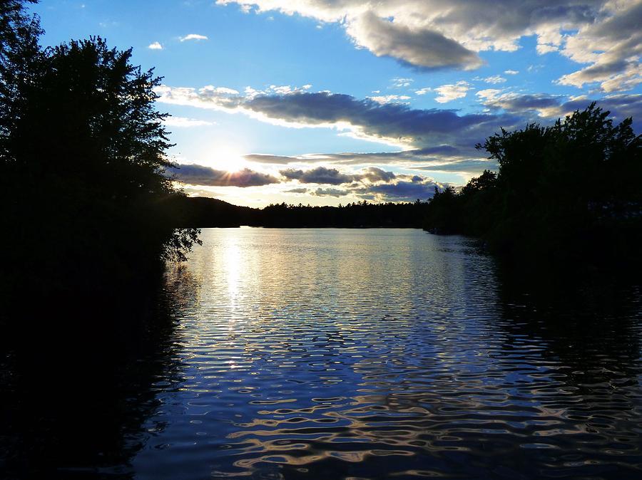 Lake Sunset Photograph by Scott Welton