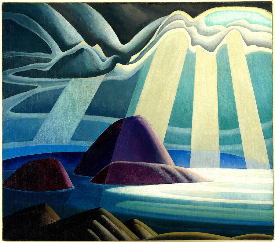 Lake Superior Painting By Lawren Harris - Superior painting