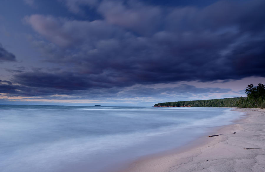 Wisconsin Photograph - Lake Superior Shoreline by Eric Foltz