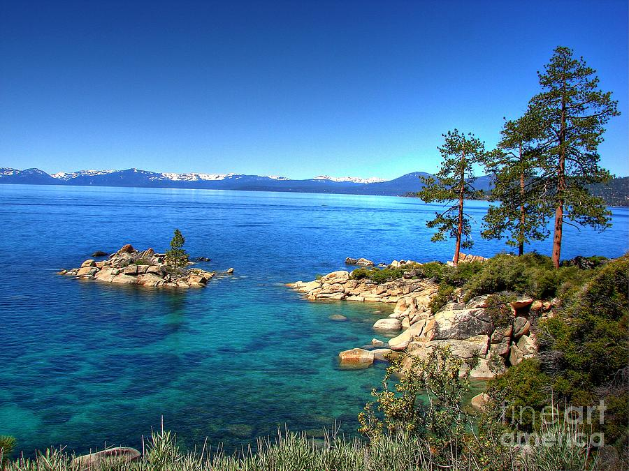 Lake Tahoe State Park Photograph - Lake Tahoe State Park Nevada by Scott McGuire
