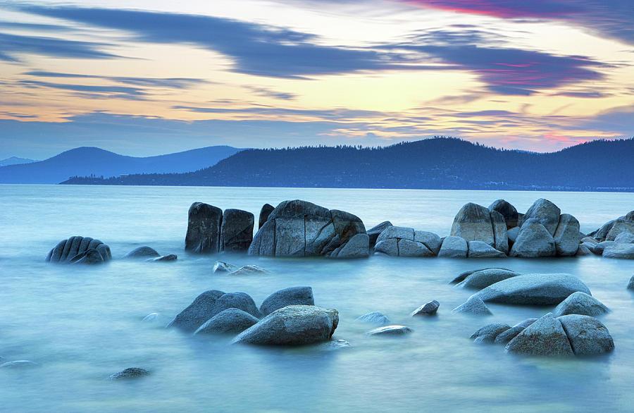 Lake Tahoe Twilight by Eric Foltz