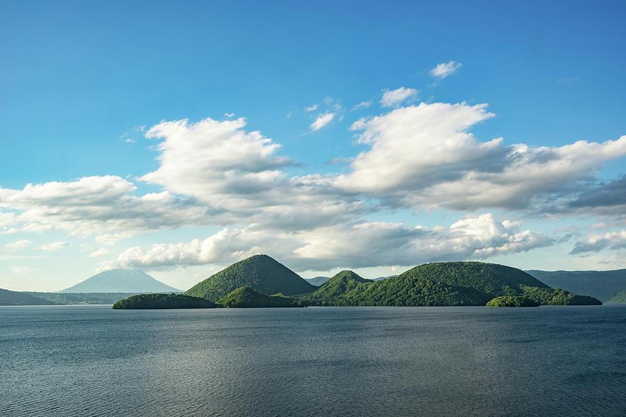 Lake Toya on an early summer day - Hokkaido, Japan by Ellie Teramoto