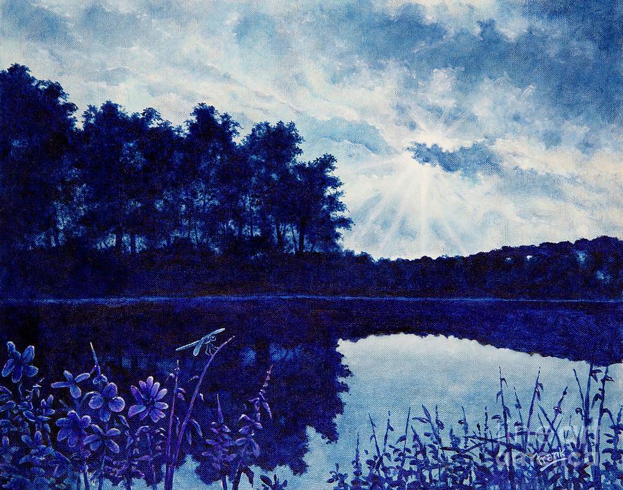 Lake Twilight by Michael Frank