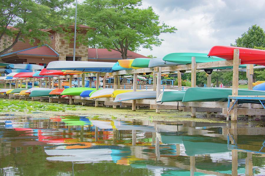 Lake Wingra Marina Photograph