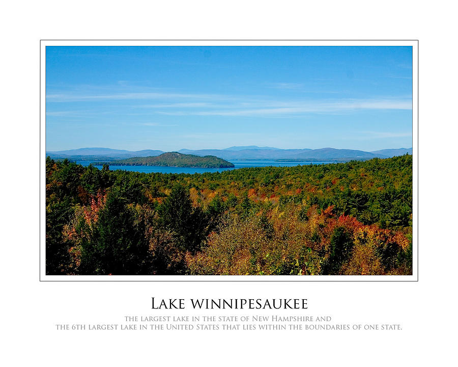 New Hampshire Photograph - Lake Winnipesaukee - Fall by Jim McDonald Photography