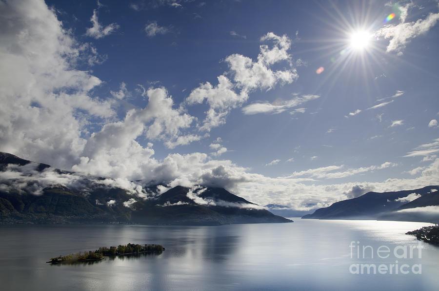 Lake Photograph - Lake With Islands by Mats Silvan