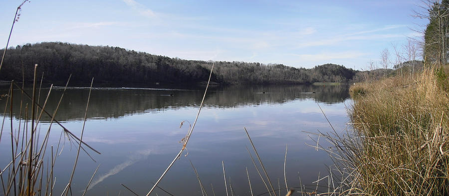 Spring Photograph - Lake Zwerner Early Spring by Nicole Angell