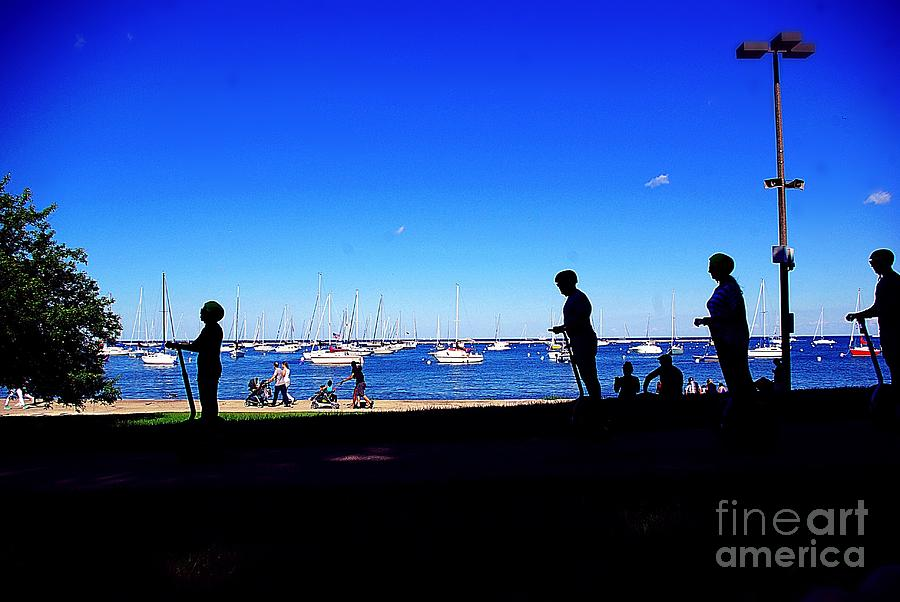 Lakefront Vibe City Of Chicago Photograph