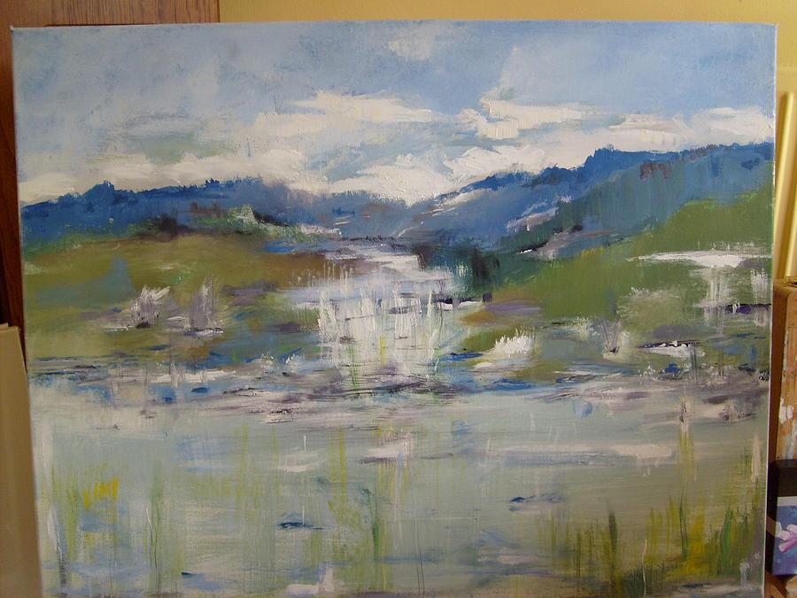 Landscape Painting - lakes of Killarney Co.Kerry by Deirdre McNamara