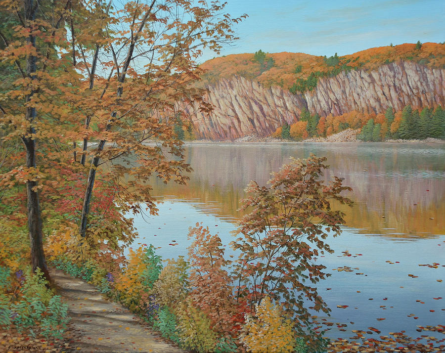 Lakeside in October by Jake Vandenbrink