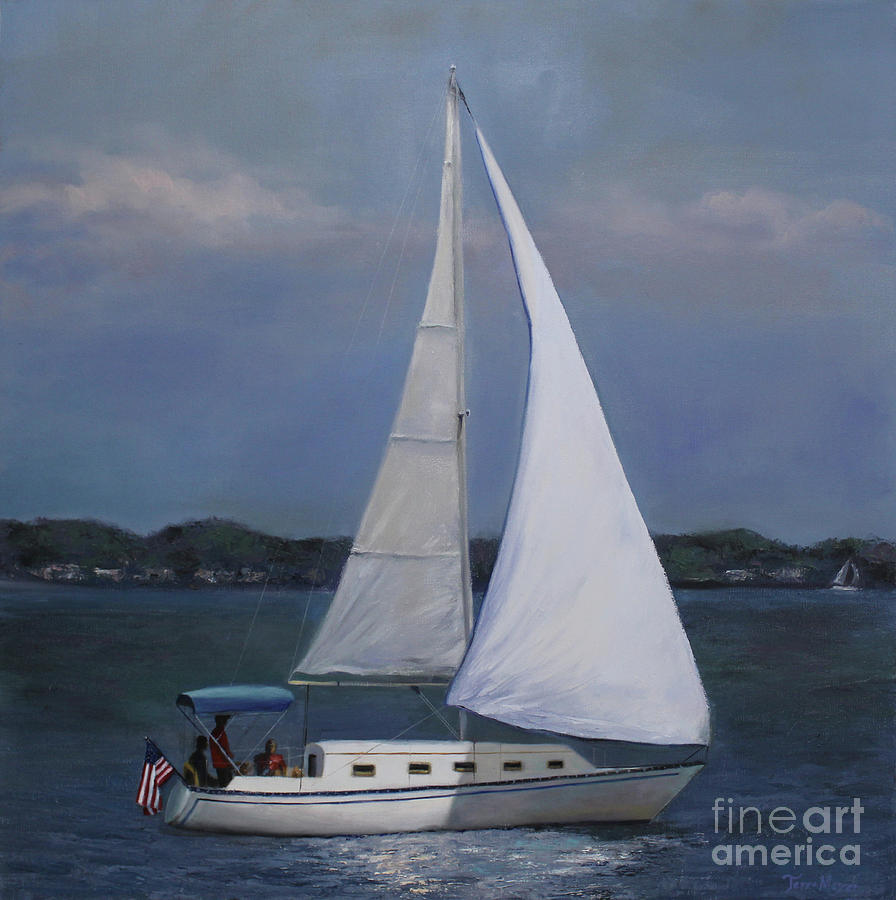 Lakeside Leisure Painting by Terri  Meyer