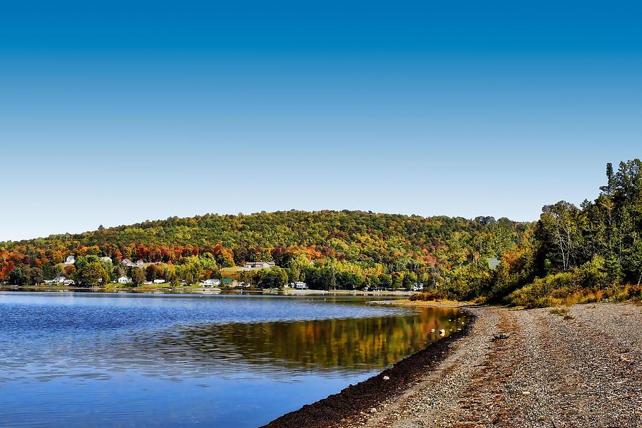 Lake Photograph - Lakeside Portage by Gary Smith