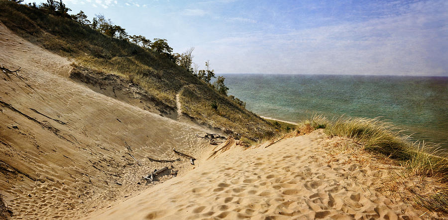 Laketown Dune Panorama Photograph by Michelle Calkins