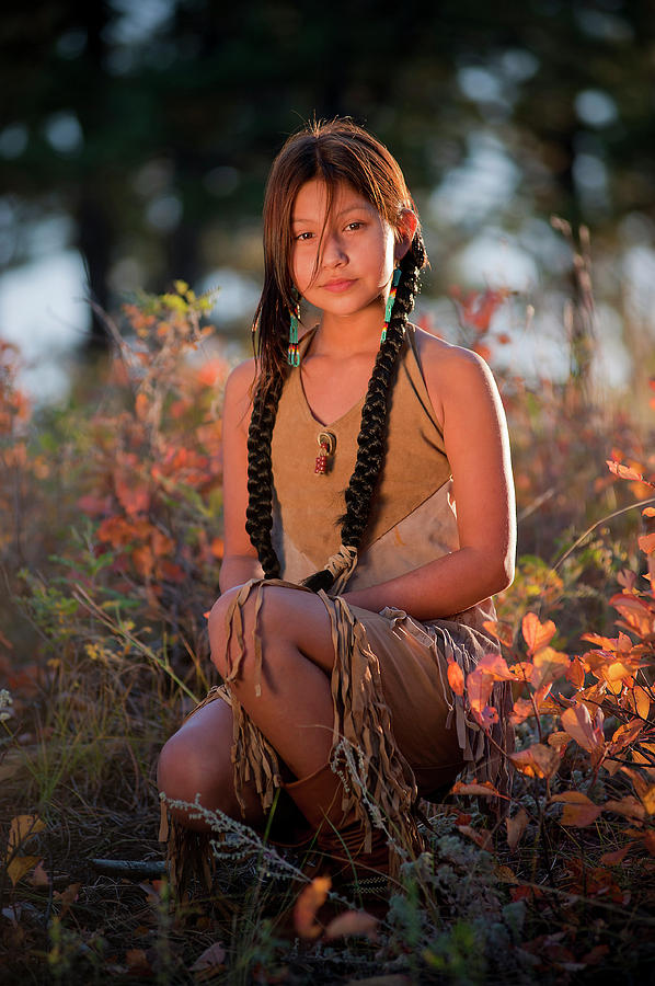Ina King- 10 year old Native Beauty- Top student -way to
