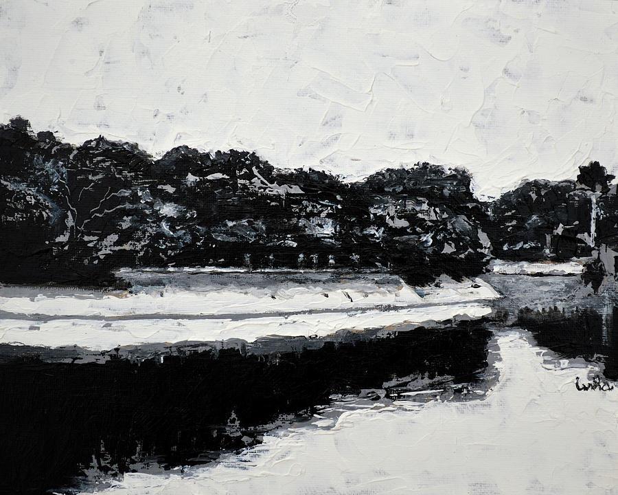 Lal Bagh Lake Painting - Lal Bagh Lake 4 by Usha Shantharam
