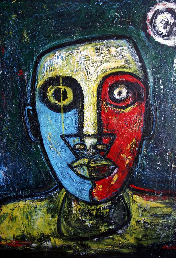Modern Painting - Lalo by Ci Ci Segura Gonzalez