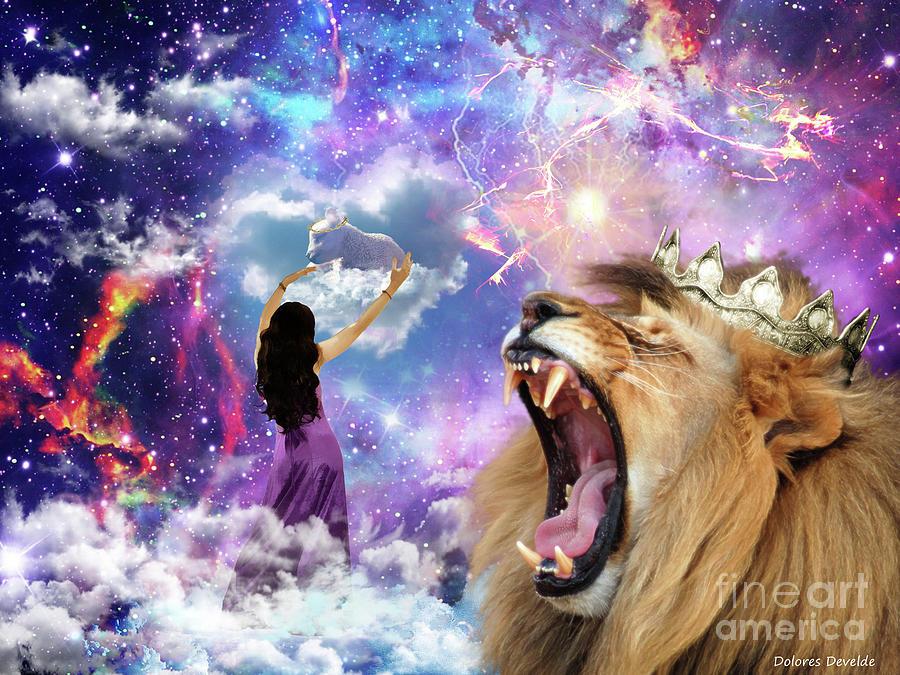 Lamb Of God Digital Art