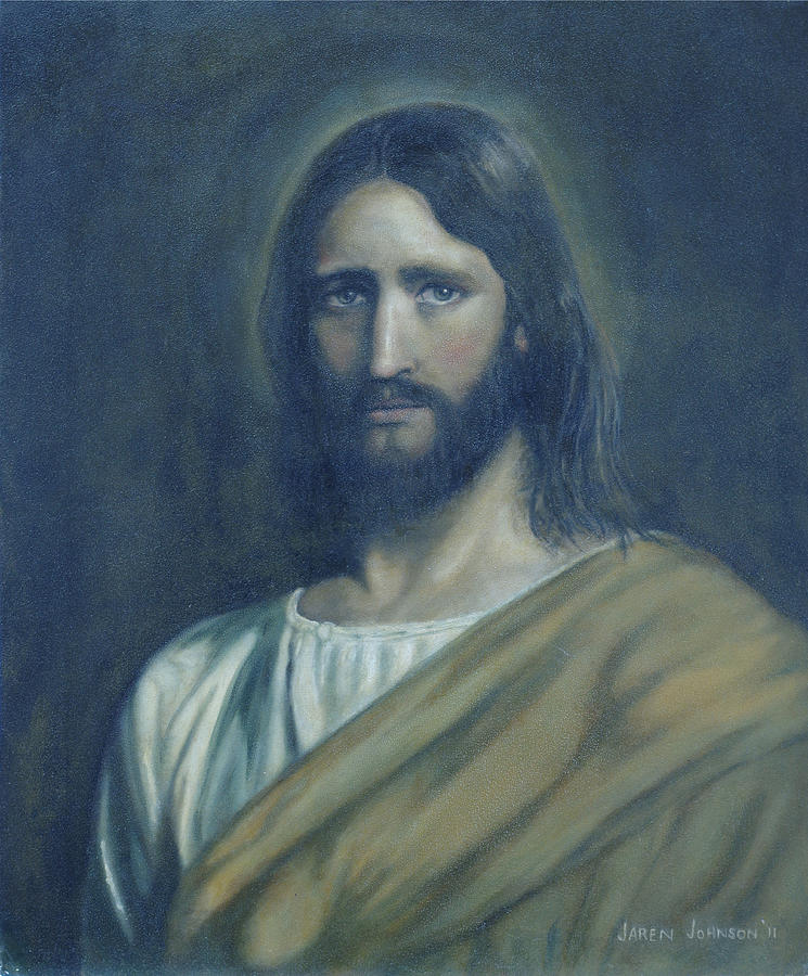 Jesus Christ Painting - Lamb of God by Jaren Johnson
