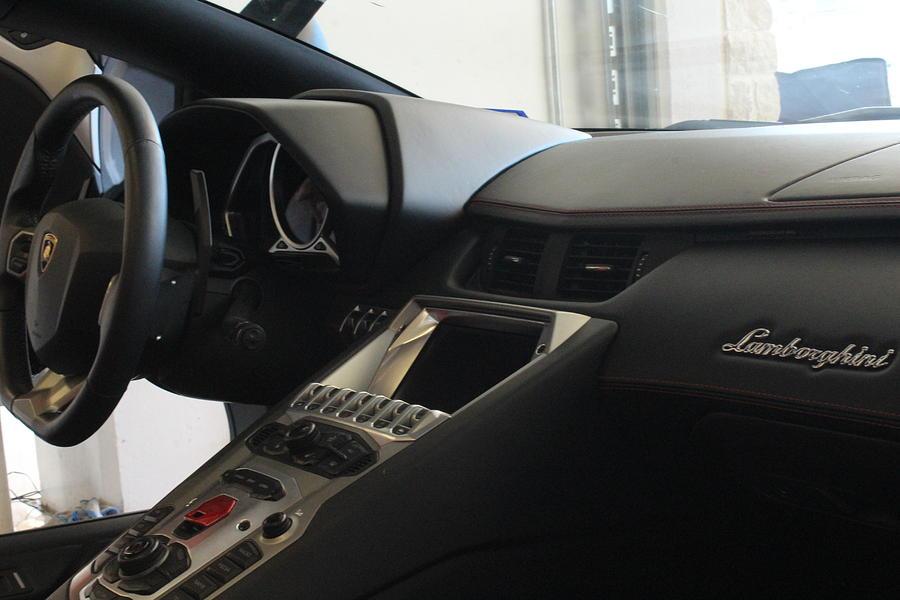 Lamborghini Aventador Interior Photograph By Snap