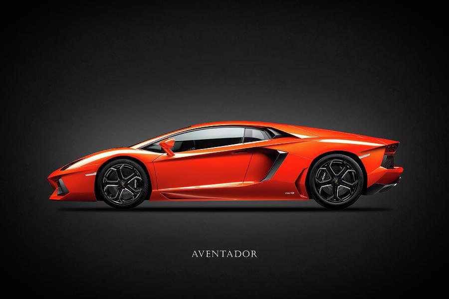 Lamborghini Aventador Photograph - Lamborghini Aventador by Mark Rogan