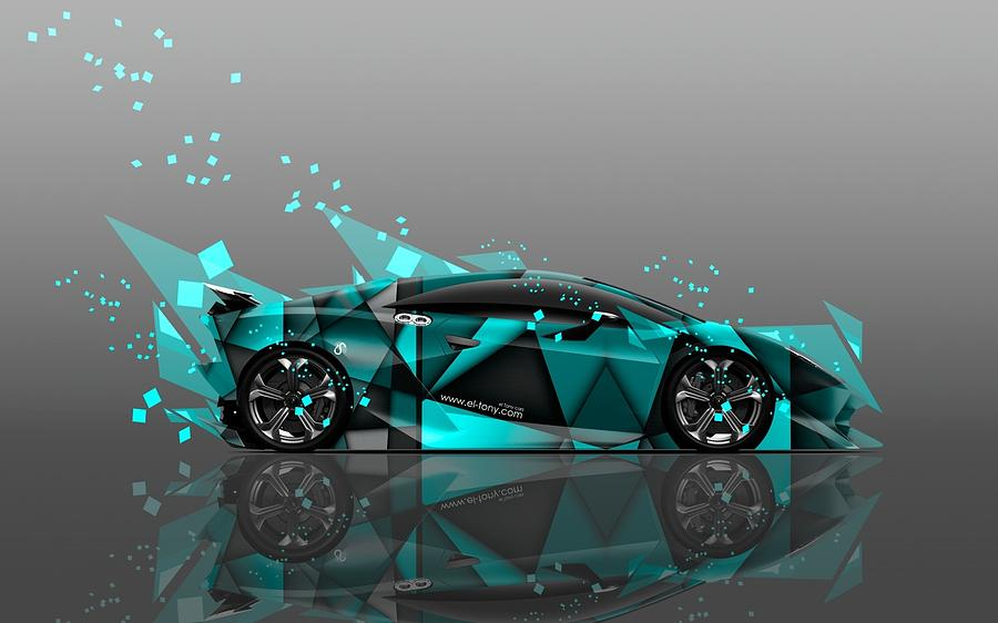Lamborghini Digital Art - Lamborghini by Dorothy Binder