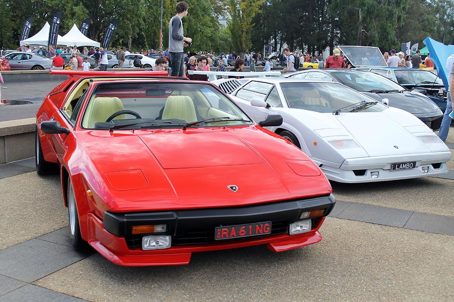 Lamborghini Jalpa And Countach Photograph By Anthony Croke