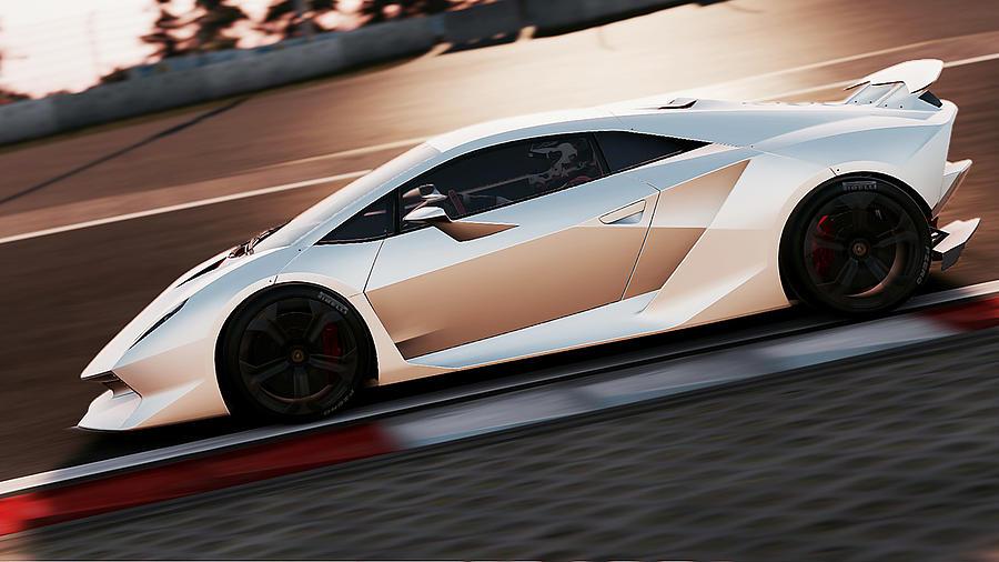 Lamborghini Sesto Elemento 01 Photograph By Andrea Mazzocchetti