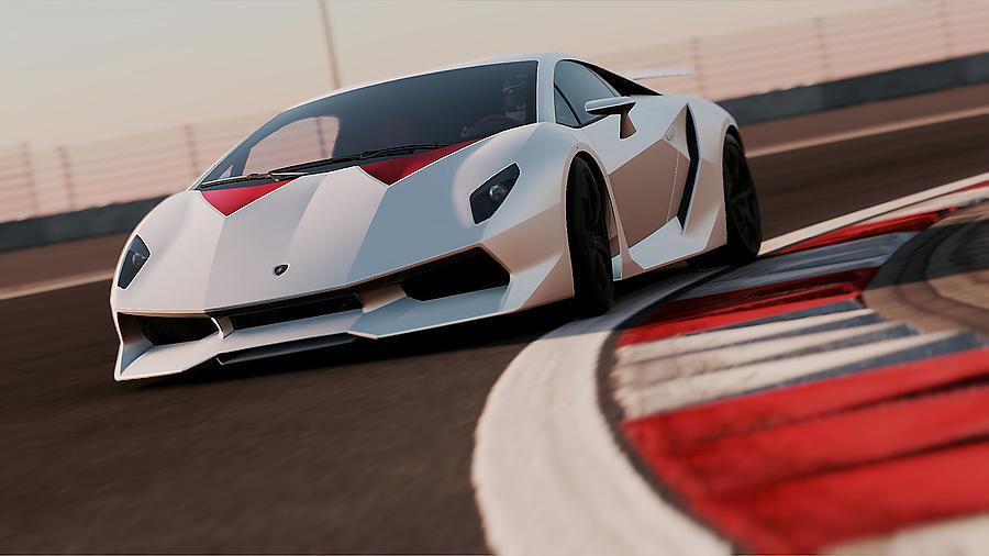 Lamborghini Sesto Elemento 03 Photograph By Andrea Mazzocchetti