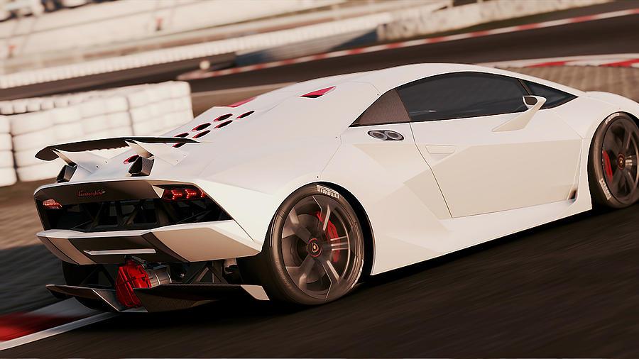 Lamborghini Sesto Elemento 06 Photograph By Andrea Mazzocchetti