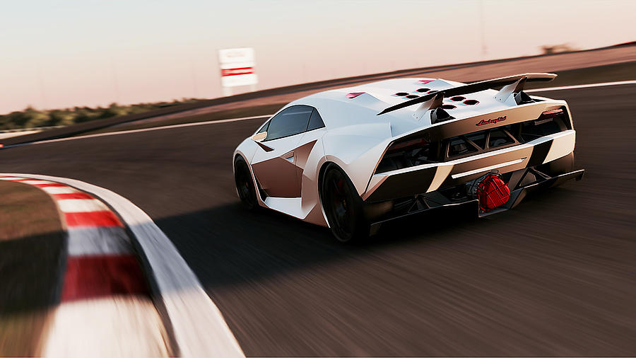 Lamborghini Sesto Elemento 11 Photograph By Andrea Mazzocchetti