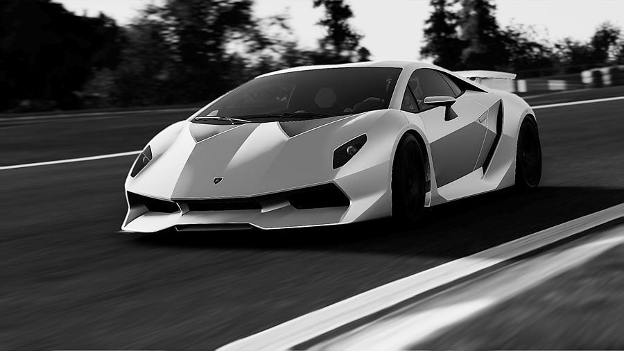 Lamborghini Sesto Elemento 20 Photograph By Andrea Mazzocchetti