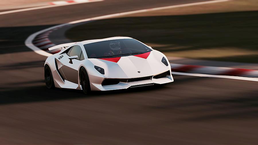 Lamborghini Sesto Elemento 32 Photograph By Andrea Mazzocchetti