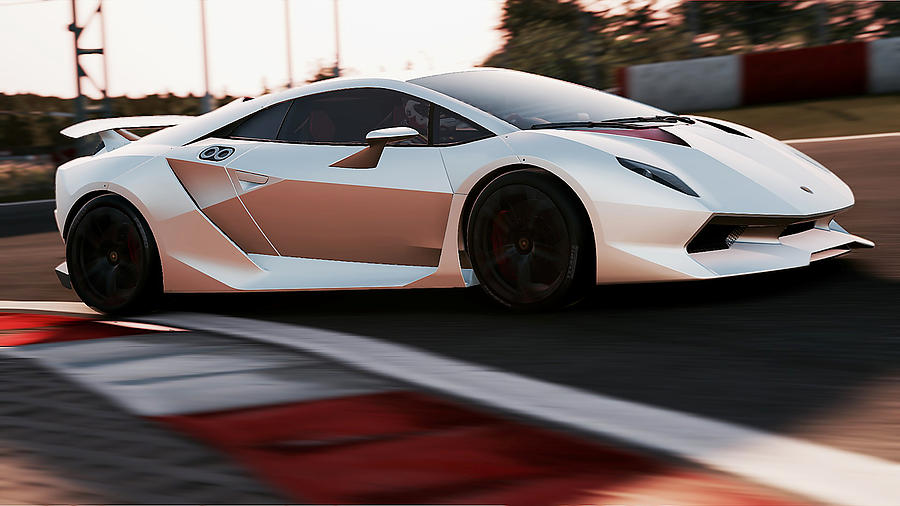 Lamborghini Sesto Elemento 44 Photograph By Andrea Mazzocchetti