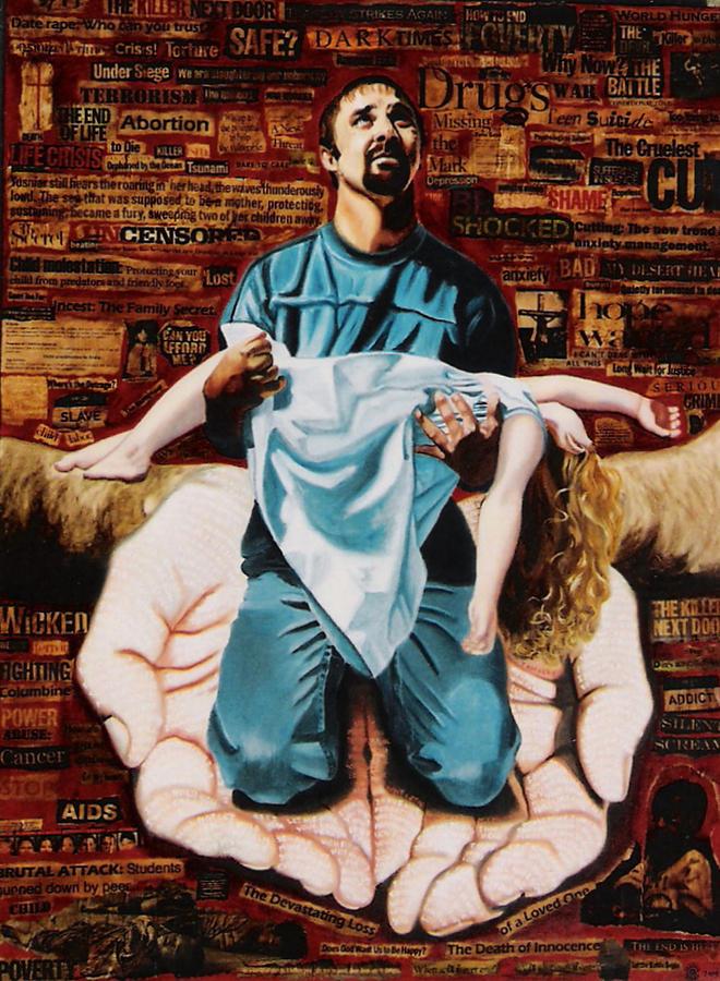Lamentations Painting - Lamentations by Teresa Carter