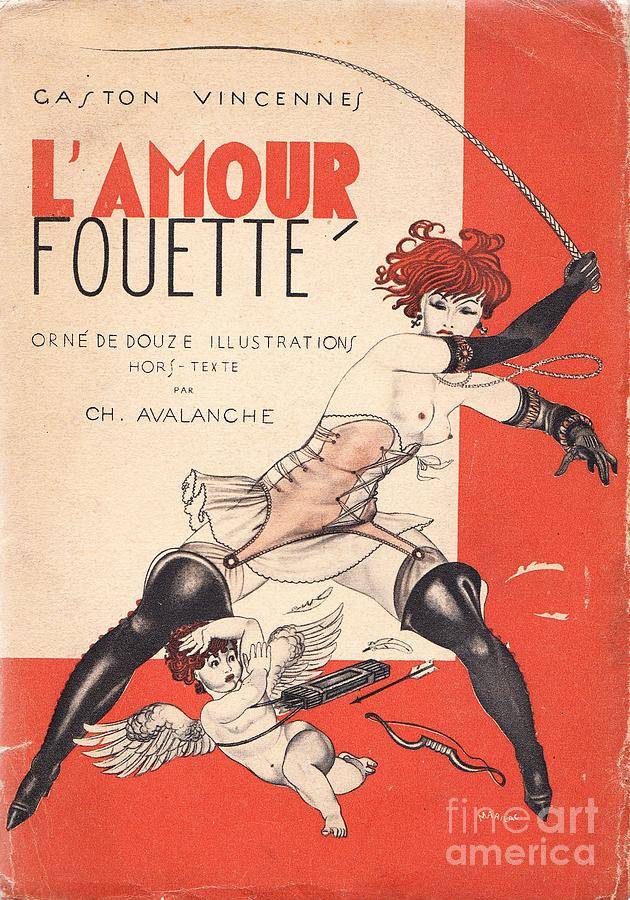 Vintage Painting - Lamour Fouette by Mario Laboccetta