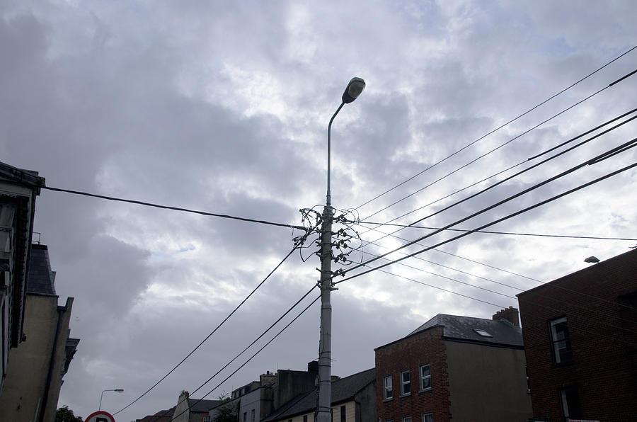 Lamp and Sky by Erik Burg