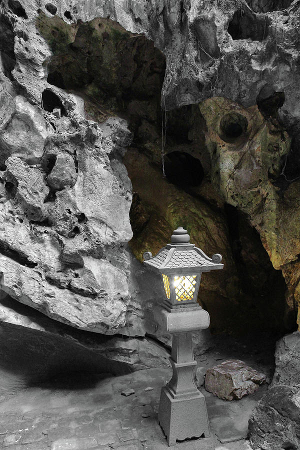 Lamp in Marble Mountain by Samantha Delory