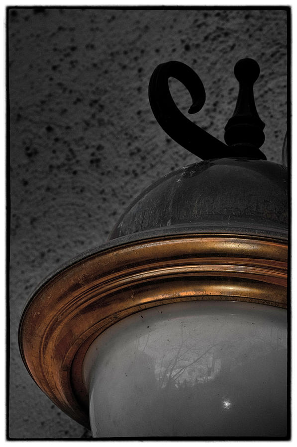 Lamp Photograph - Lamped Off by HE Webb