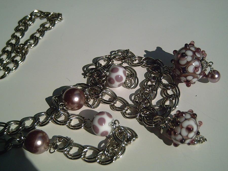 Lampwork Glass Art - Lampwork Flower Beads  by Ozlem Ercan
