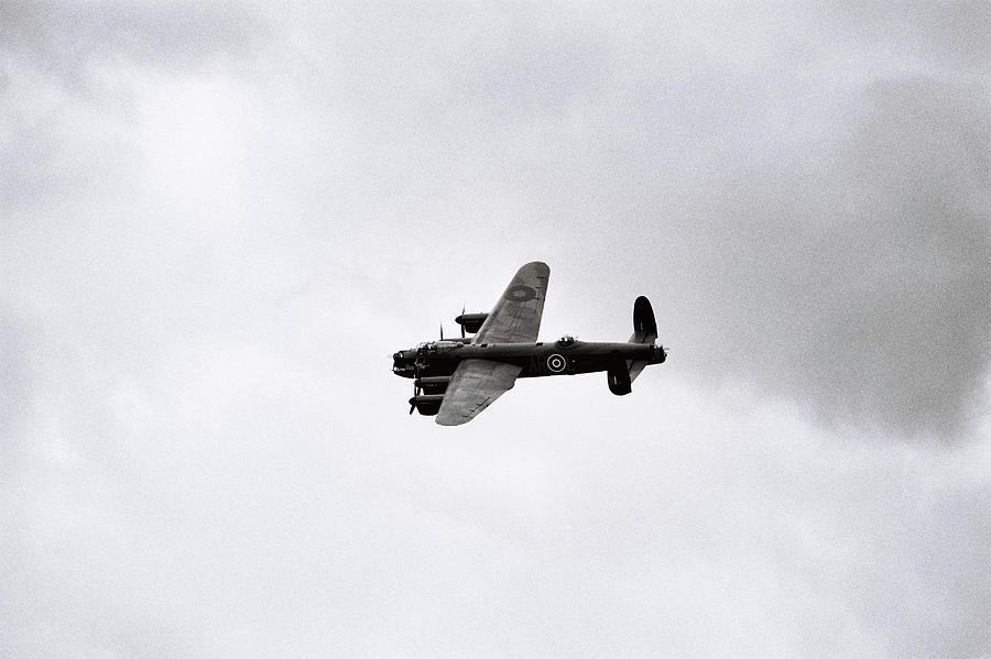 Lancaster bomber by Paul Cowan